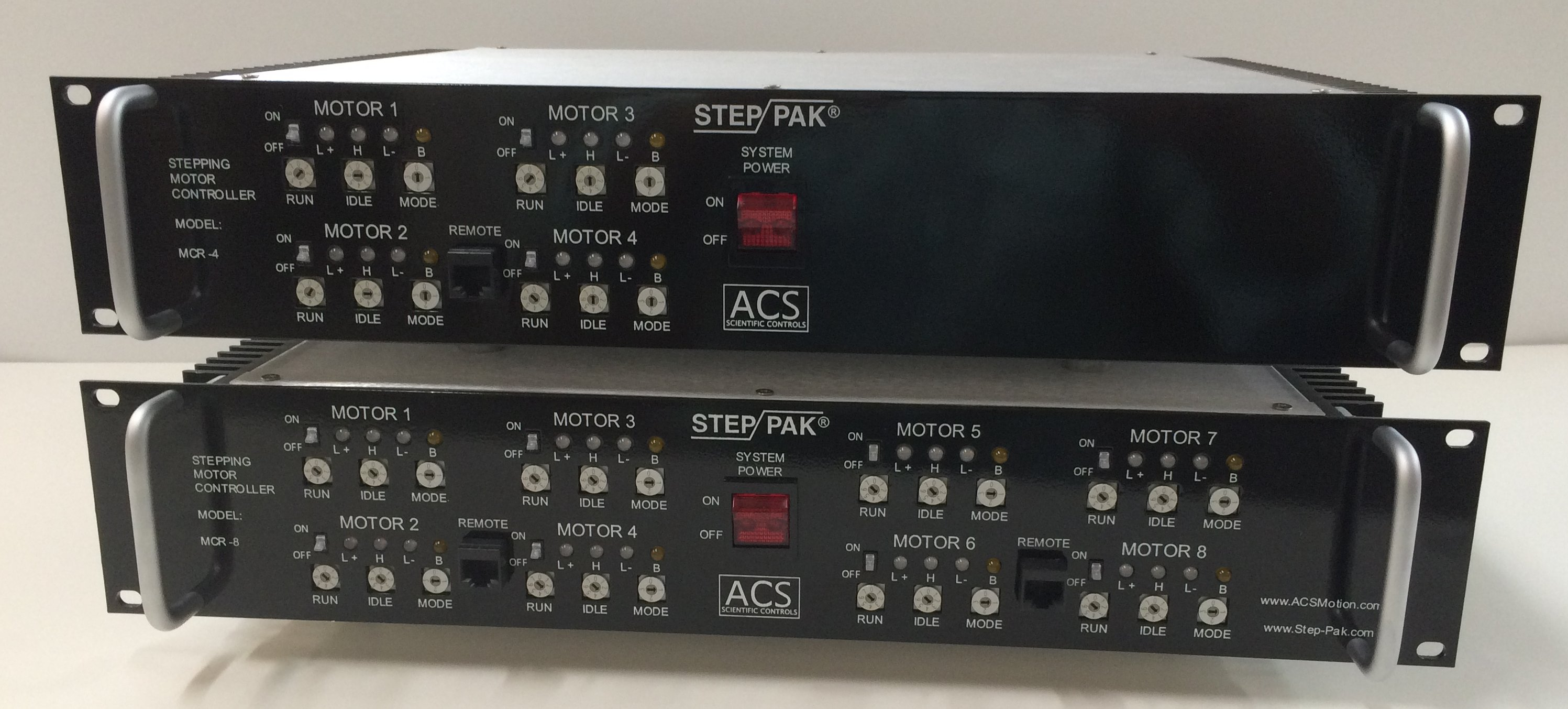 Acs Scientific Mcu 2 Catalog Page Stepper Motor Controller The Mcr Series Intelligent Motion Driver Controllers Are 4 And 8 Axis Integrated Stepping That Drive Control Phase Motors