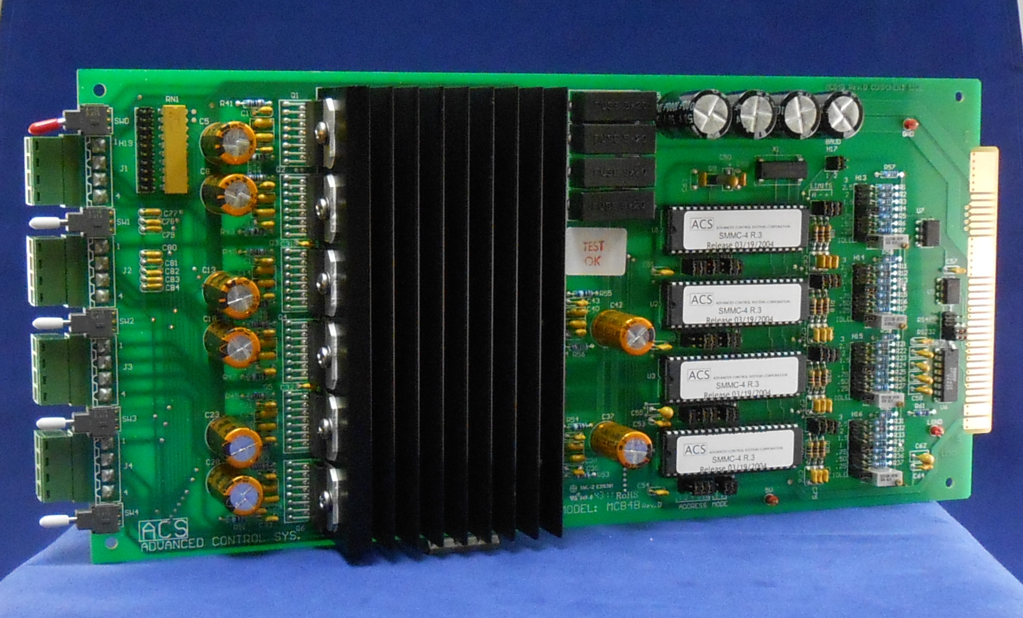 Acs Scientific Step Pak Catalog Page Integrated Stepper Motor Plus Driver Mcb 4b The Smc Series Stepping Controllers